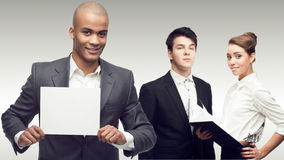 Team of young successful business people Stock Photography
