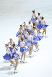 Team Zagreb Snowflakes Senior images stock