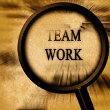 Teamarbeit Lizenzfreies Stockbild