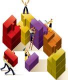 Teamarbeit Lizenzfreie Stockbilder
