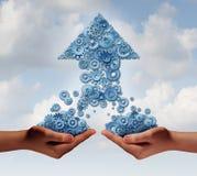 Teamarbeit für Erfolg Lizenzfreie Stockfotos