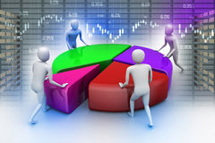 Teamarbeit, Geschäftskonzept vektor abbildung