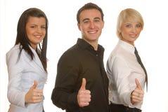 Teamarbeit, guter Job! Stockfoto