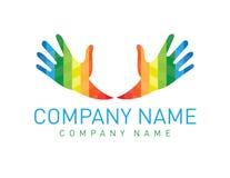 Teamarbeits-Handdesign Lizenzfreies Stockfoto