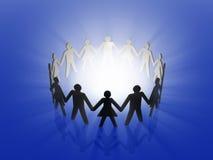 Teamarbeitskonzept Lizenzfreies Stockbild