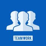 Teamarbeitszeichen Lizenzfreies Stockfoto