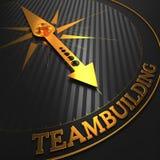 Teambuilding. Предпосылка дела. иллюстрация штока