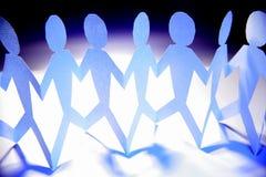 Teameinheit Lizenzfreie Stockfotos