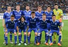 Teamfoto-Spieler FC Dynamo Kyiv stockbild