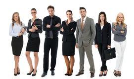 Teamfoto von jungen Wirtschaftlern lizenzfreies stockbild