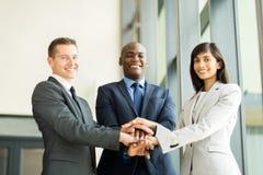 Teamhanden samen Stock Fotografie