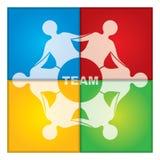 Teamillustration Lizenzfreies Stockfoto
