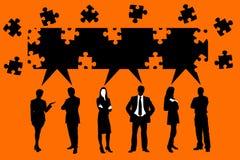 Teamlösung Lizenzfreies Stockfoto