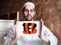 Teamlogo des amerikanischen Fußballs der Cincinnati Bengals Lizenzfreie Stockfotografie
