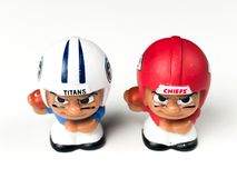 Teammates Toy Figures Titans van Li ` l versus leiders royalty-vrije stock fotografie