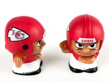Teammates Toy Figures van Kansas City Chiefsli ` l stock foto