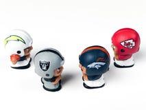 Teammates van Li ` l het Westen van Toy Figures AFC stock afbeelding