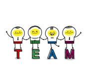 teams Royalty-vrije Stock Fotografie