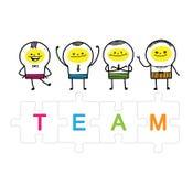 teams Lizenzfreie Stockfotografie