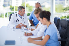 Teams of doctors working together Royalty Free Stock Photo