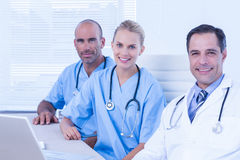 Teams of doctors working together Royalty Free Stock Photos