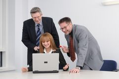 Teambesprechung stockfoto