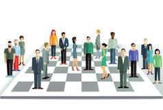 Teamstrategie Royalty-vrije Stock Foto