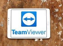 TeamViewer-Computer-Software Logo lizenzfreie stockbilder