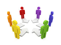 Teamwork. Stock Image