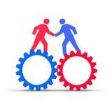 Teamwork vektor abbildung