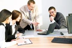 Teamwork royalty free stock photo