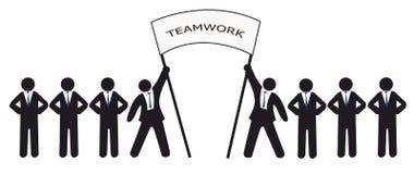 Teamwork Stockbilder