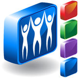 Teamwork 3D Icon Stock Photo
