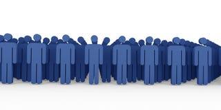 Teamwork 3D Render Stock Images