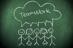 teamwork Fotografia Stock