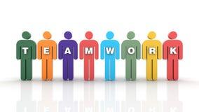 teamwork Immagini Stock