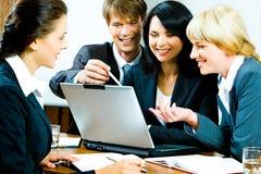 Teamwork Stockfoto