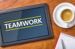 teamwork Images libres de droits