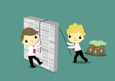 teamwork illustration stock