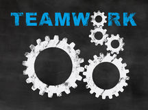 Teamwork stock illustrationer