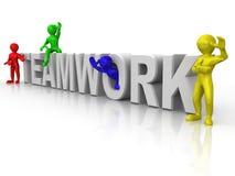 Teamwork Royalty Free Stock Photos