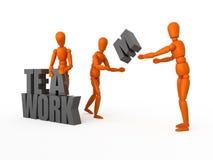 Teamwork. Stockfoto