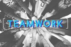 Teamwork Agreement Alliance Collaboration Unity Concept Stock Photo