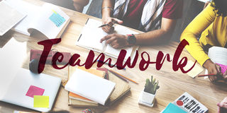 Teamwork Agreement Alliance Collaboration Unity Concept Stock Images