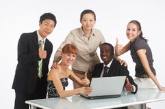 Teamwork from all world Royalty Free Stock Photo