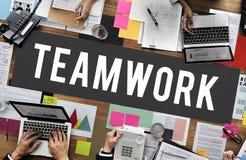 Teamwork Alliance Association Collaboration Concept Royalty Free Stock Photos