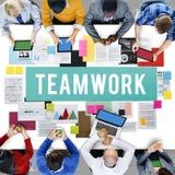 Teamwork Alliance Association Collaboration Concept Stock Images