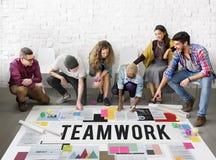 Teamwork Alliance Association Collaboration Concept Royalty Free Stock Image