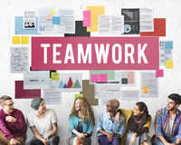 Teamwork Alliance Association Collaboration Concept Royalty Free Stock Images