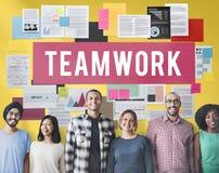 Teamwork Alliance Association Collaboration Concept Stock Photo